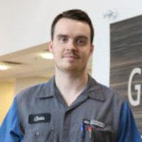 CHRIS BOOTH : Service Technician